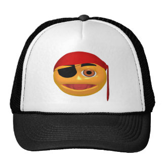 Happy Face Pirate Hat