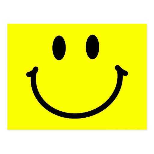 Happy Face Postcard