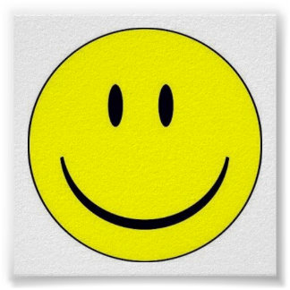 Happy Face Print