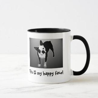 Happy Face - Ringer Mug