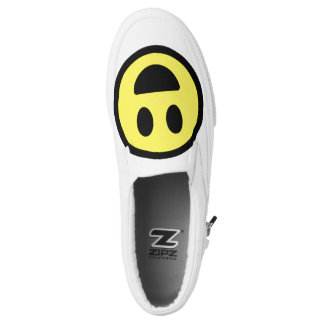 Happy face, slip-on shoes, by zipz !