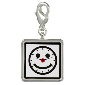 Happy Face Time - Clocked Charms