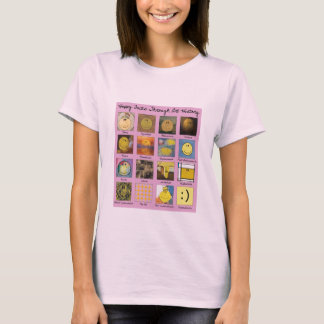 happy faces through art history shirt