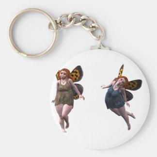 happy fairy elves keychain