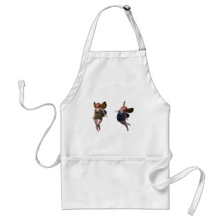 happy fairy elves standard apron