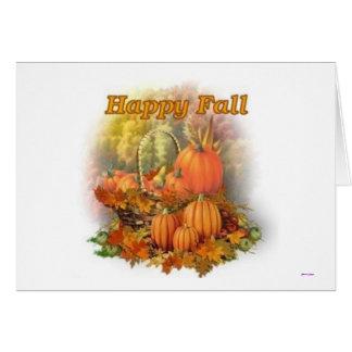 Happy Fall Card