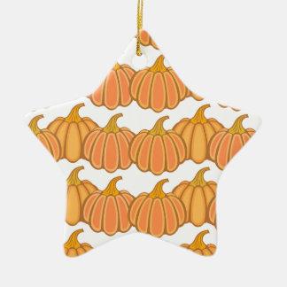 Happy fall y'all! ceramic star ornament