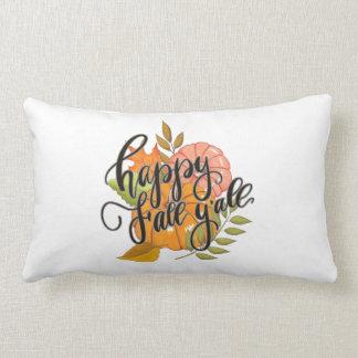 Happy Fall Y'all Lumbar Pillow