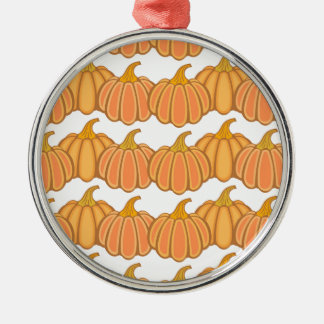 Happy fall y'all! Silver-Colored round ornament