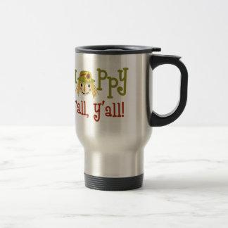Happy Fall Yall Travel Mug