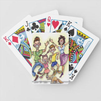 Happy Family Bicycle Playing Cards