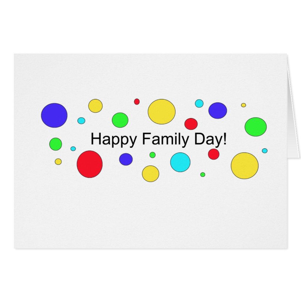 Happy Family Day Cards Happy Family Day