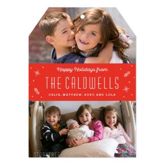 Happy Family Holiday Photo Card