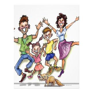 Happy Family Letterhead