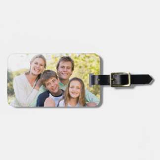 Happy Family Love and Fun Luggage Tag