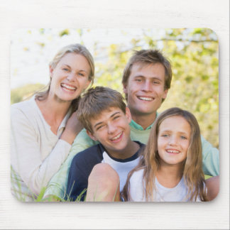 Happy Family Love and Smile Mouse Pad