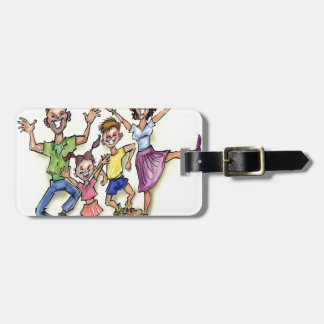 Happy Family Luggage Tag