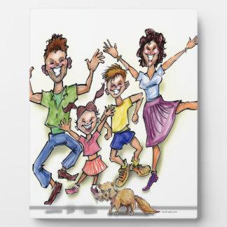 Happy Family Plaque