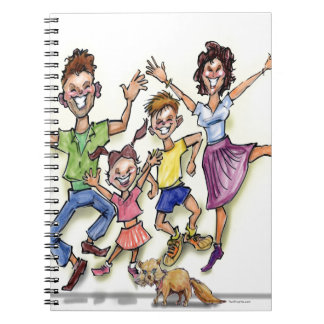 Happy Family Spiral Notebook