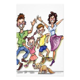 Happy Family Stationery