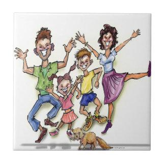 Happy Family Tile
