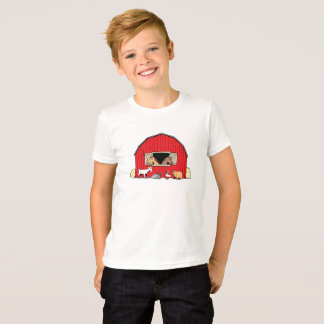 Happy Farm Barnyard Animals Boys T-Shirt