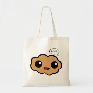 Happy Fart Budget Tote Bag