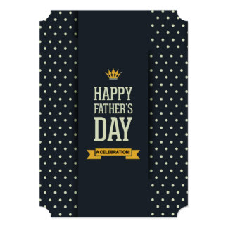 Happy Father Father's Day Party Invitations