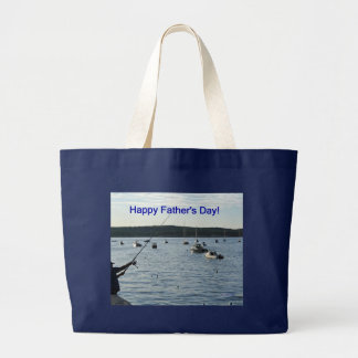 Happy Father s Day Fishers of men Tote Bags
