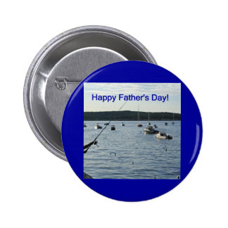 Happy Father s Day Fishers of men Button