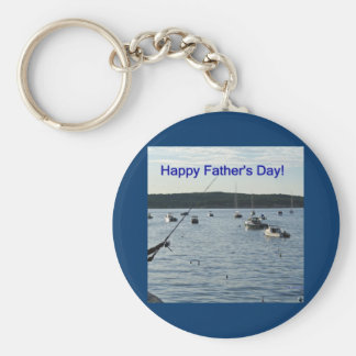 Happy Father s Day Fishers of men Key Chains