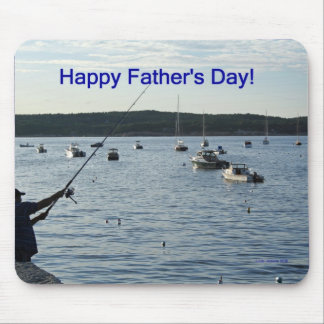 Happy Father s Day Fishers of men Mousepad
