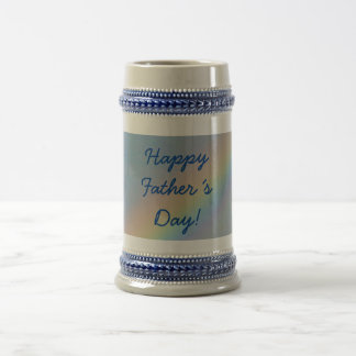 Happy Father´s Day! Stein, Rainbow Blue Sky Beer Steins
