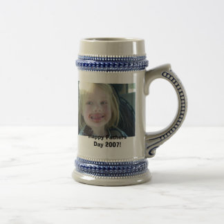 Happy Fathers Day 2007! 18 Oz Beer Stein
