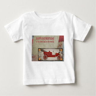 Happy-Fathers-Day #2 Baby T-Shirt
