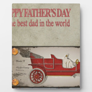 Happy-Fathers-Day #2 Plaque