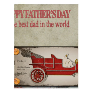 Happy-Fathers-Day #2 Postcard