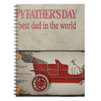 Happy-Fathers-Day #2 Spiral Note Books