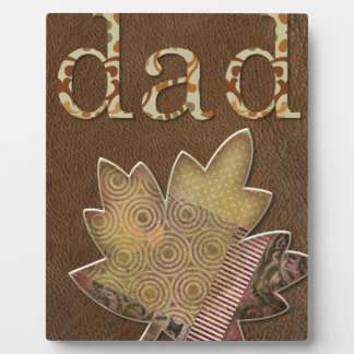 Happy-Fathers-Day #3 Plaque