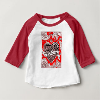 Happy Father's Day 4 Baby T-Shirt