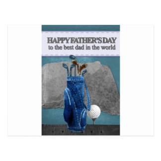Happy-Fathers-Day #4 Postcard