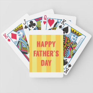 Happy-Fathers-Day #6 Bicycle Playing Cards