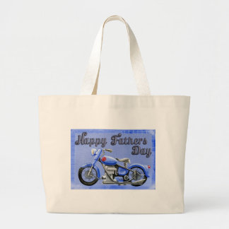 Happy-Fathers-Day #7 Large Tote Bag