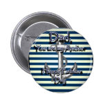 Happy Fathers Day Anchor Pin