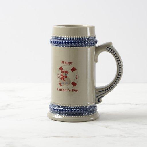 Happy Father's Day (bear) Coffee Mugs