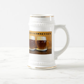 Happy Fathers Day Beer Tankards 18 Oz Beer Stein