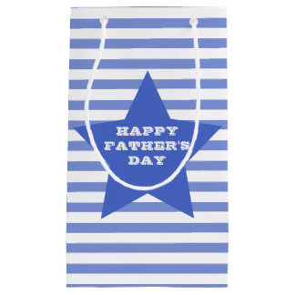 Happy Father's Day | Blue Star & Stripes Gift Bag