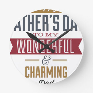 Happy Father's Day Clocks