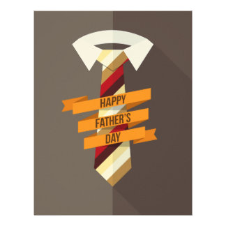 Happy Father's Day Custom Letterhead