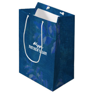 Happy Father's Day. Custom Name Gift Bags
